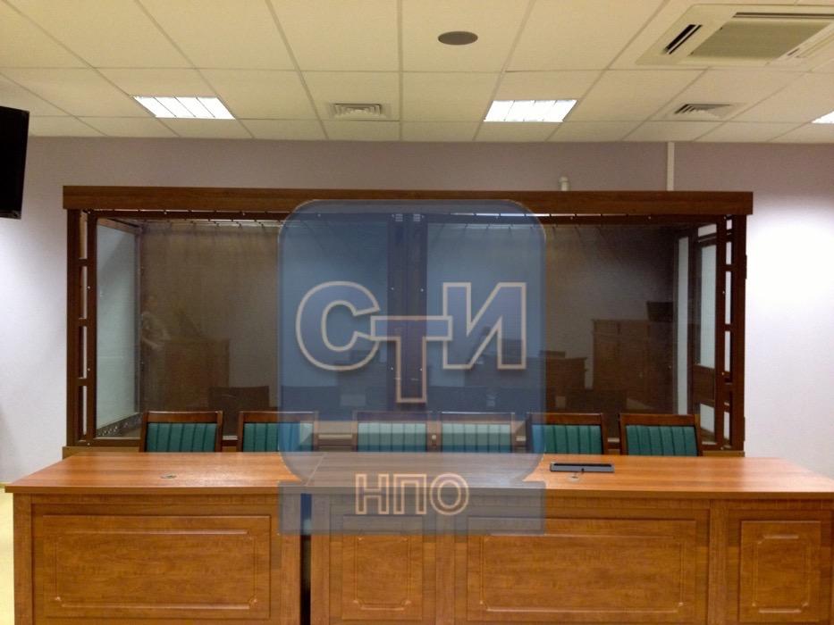Кабина изолирующая для подсудимых (10 мест)